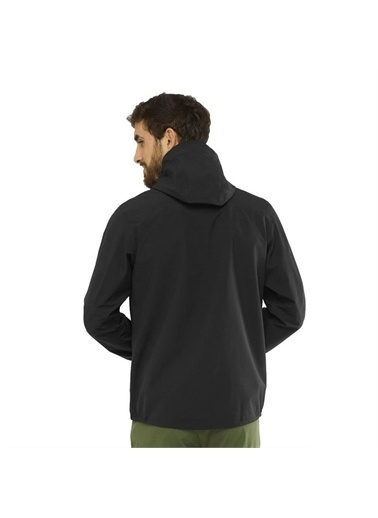Salomon Salomon Outline JKT M Erkek Outdoor Ceket Siyah